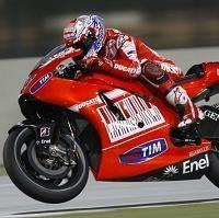 Moto GP - Qatar D.1: Stoner dit qu'il n'est pas encore à l'aise