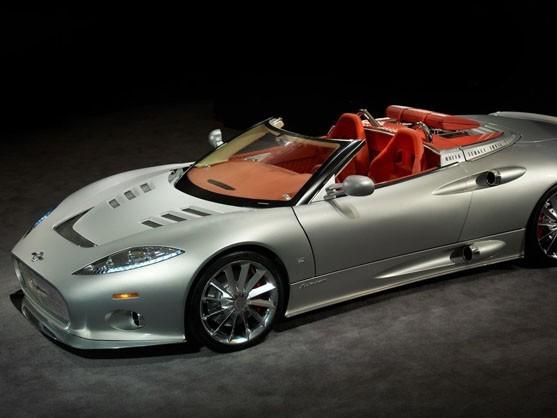 Un cœur de Corvette ZR1 pour la Spyker C8 Aileron Spyder