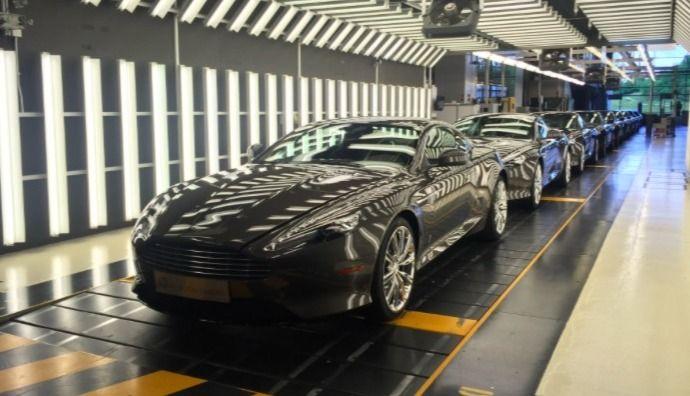 L'Aston Martin DB9 tire sa révérence