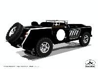 Land Rover en folies: jusqu'à 1500 ch!!! avec un V12 de 27 litres!!!