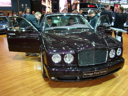Bentley Arnage Final Series : le chant du cygne...