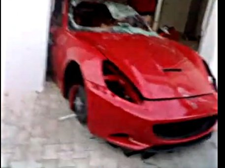 Tunisie : la Ferrari 599 de l'ex-Président Ben Ali épargnée. Pas la California !