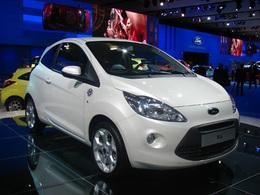 Ford Ka en direct du Mondial: c'est la Fiesta à la Ka