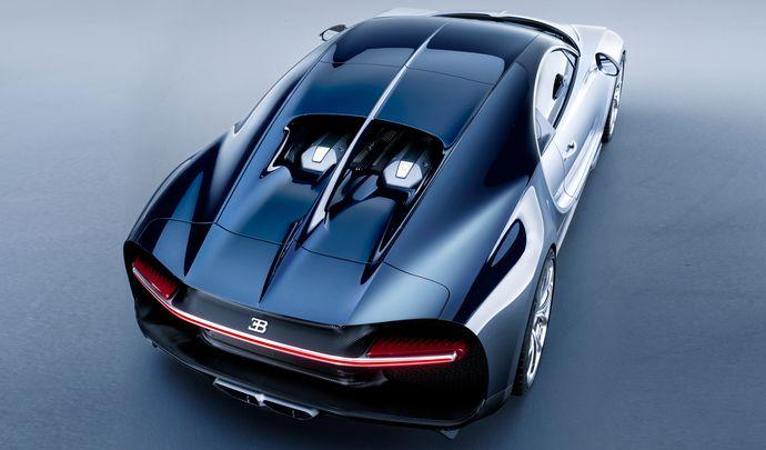 Bugatti Chiron : pas de roadster au programme