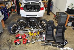 BMW M3 E92 EAS, guide de préparation pour le Sema Show (52 photos)