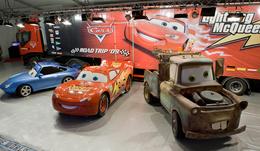 Les héros de Cars s'invitent au Salon de l'Auto