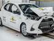 Crash-test Euro NCAP: 5 étoiles pour la Toyota Yaris avec un protocole plus sévère