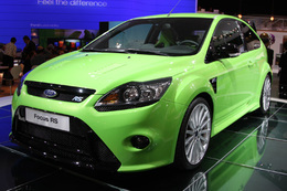 Ford Focus RS en direct de Paris: l'épouvantail