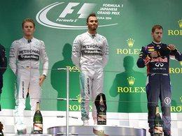 F1 - GP du Japon : Hamilton devance Rosberg, Jules Bianchi gravement blessé à la tête