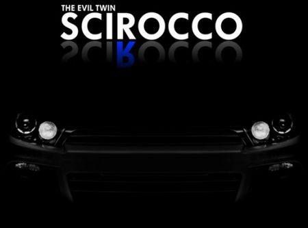 Teaser VW Scirocco R : la méchante arrive