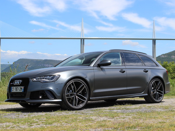 Essai vidéo - Audi RS6 Avant : bestiale