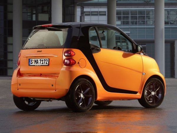 Smart Fortwo NightOrange : orange brillante