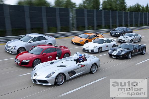Midi Pile - Nardo High Speed Test par Auto Motor Und Sport, un casting alléchant [Vidéo]