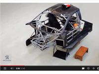 Pikes Peak 2013 : la construction de la Peugeot 208 T16 en time lapse