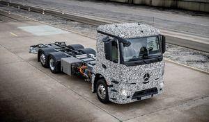 Mercedes dévoile un poids lourd électrique