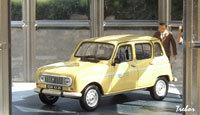 Miniature : 1/43ème - RENAULT R4 Carte jeune