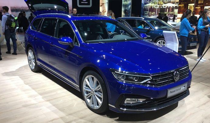 Volkswagen Passat restylée : imperturbable - Vidéo en direct du salon de Genève 2019
