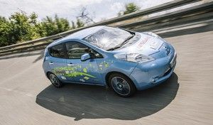 Nissan : un prototype de Leaf à l'autonomie doublée