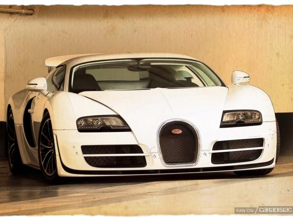 Photos du jour : Bugatti Veyron Super Sport