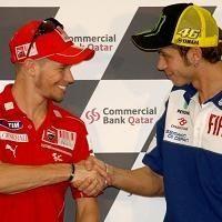 Moto GP - Qatar D.2: Rossi pensera à Laguna Seca 2008