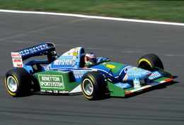 La Formule 1 victorieuse de Michael Schumacher en 1994 est à vendre