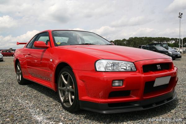 Photos du jour : Nissan Skyline GTR R34 Nismo