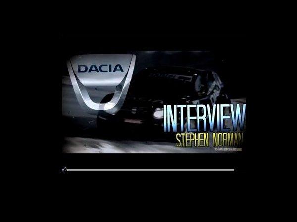 """Stephen Norman, Directeur Marketing Monde Renault : """" une Dacia extraordinaire début 2012"""""""