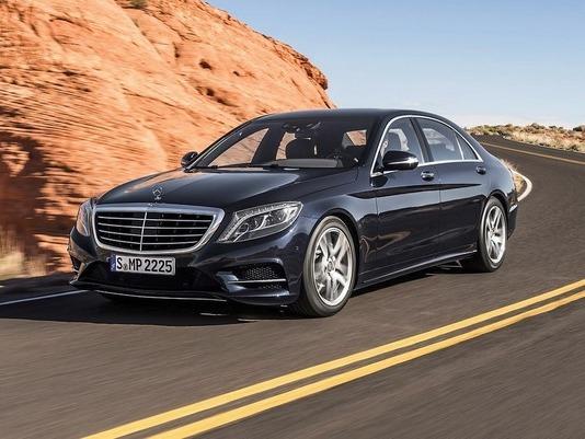 La Mercedes Classe S Coupé présente à Francfort ?