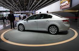 Live Mondial 2008 : la nouvelle Toyota Avensis s'aiguise