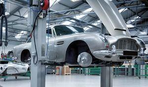 Aston Martin avec son histoire - Vidéo en direct de Rétromobile 2019
