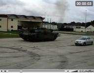 La vidéo du jour : char Leclerc versus Seat Ibiza