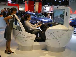 Eco-conduite : les simulateurs fleurissent sur le salon !