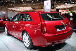 Mondial de Paris 2008 Live : CTS Sport Wagon, Cadillac fait le break !