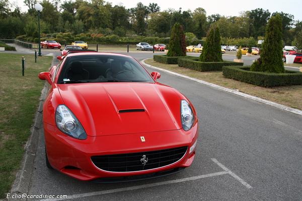Photos du jour : Ferrari California