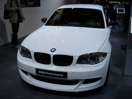 Mon coup de coeur du salon : BMW 125i pack M.