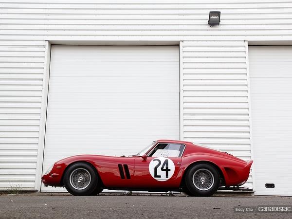Photos du jour : Ferrari 250 GTO (Le Mans Classic)