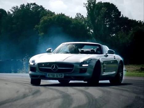 Sls Amg Roadster Top Gear Top Gear Mercedes Sls Amg