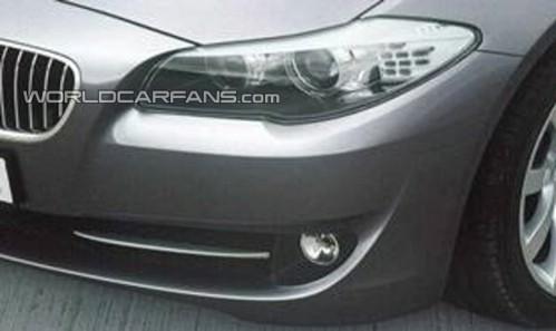 Nouvelle BMW Serie 5 : elle montre son œil gauche et son nez