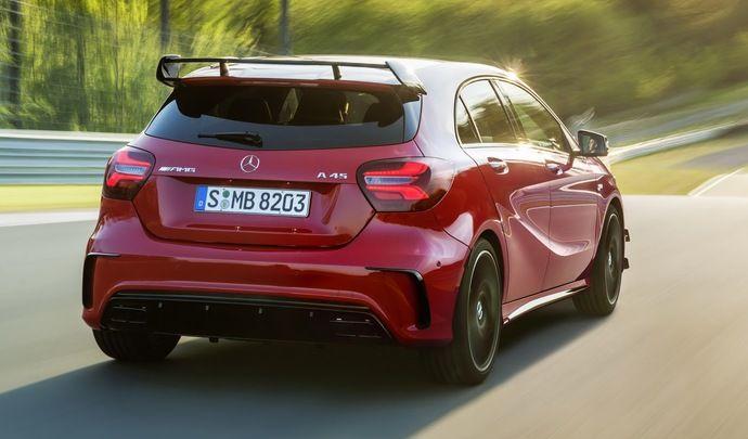 Future Mercedes A45 AMG : on parle déjà de plus de 400 ch