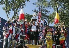 Première manche du motocross des Nations