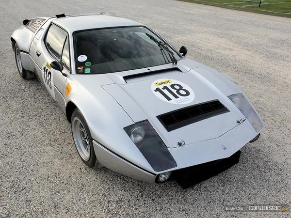 Photos du jour : Maserati Bora Gr IV 1973 (Concours d'élegance de Chantilly)