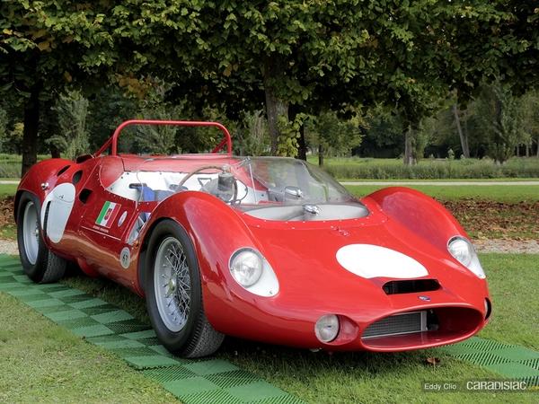 Photos du jour : Maserati Tipo 63 1961 (Concours d'élegance de Chantilly)