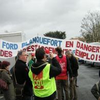 Manifestation Ford : la grande entreprise… qui connaît la crise