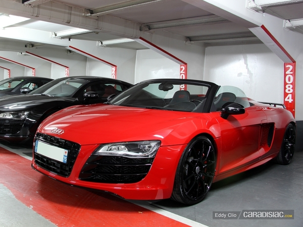 Photos du jour : Audi R8 Spyder (GT Days 2013)