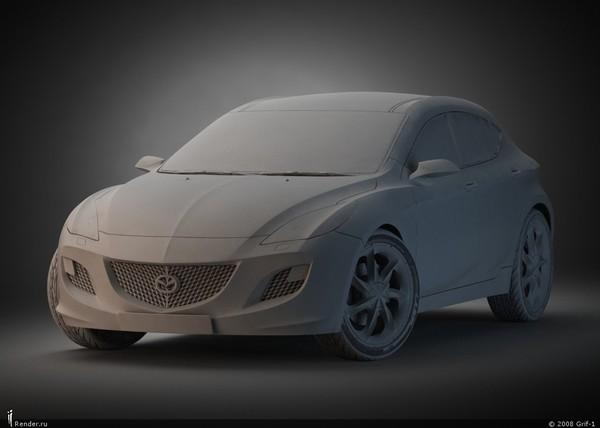 Future Mazda3 2010 : la vérité est ailleurs !