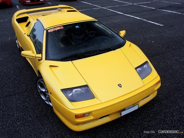 Photos du jour : Lamborghini Diablo VT roadster (GT Days 2013)