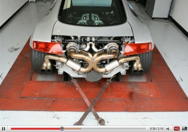Réveil Auto : Audi R8 biturbo Heffner, le teaser qui met l'eau à la bouche