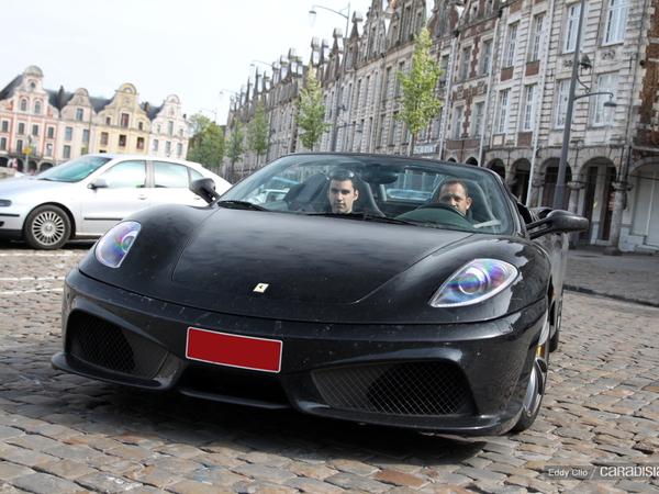 Photos du jour : Ferrari 430 Spider (kit 16M)