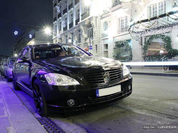 Photos du jour : Mercedes Classe S Lorinser