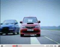 Vidéo Top Gear : Clarkson oppose la Subaru Impreza WRX STI et la Mitsubishi Lancer Evo X
